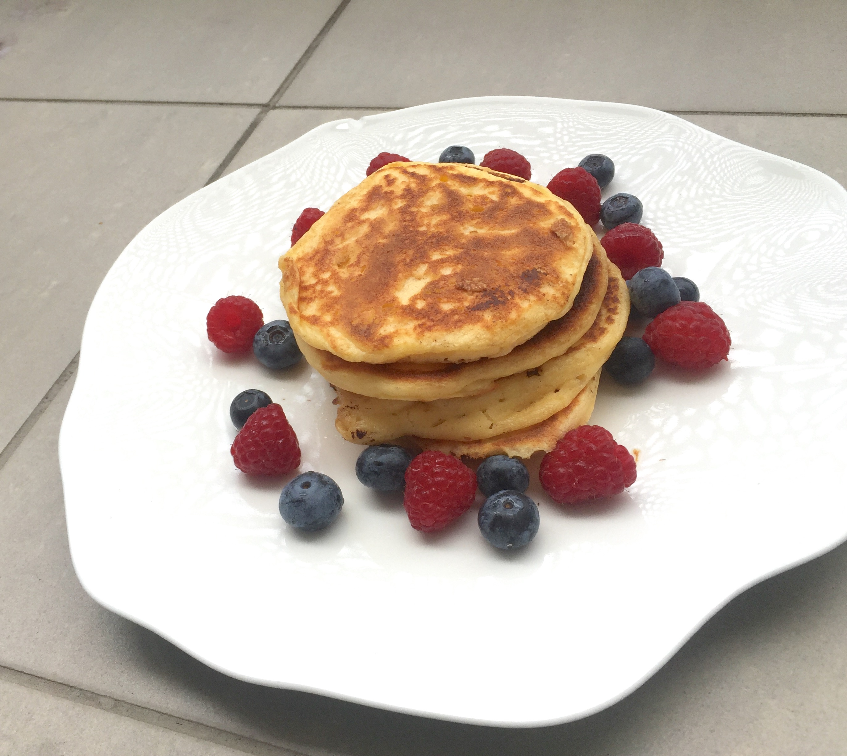 Fluffige Joghurt Pancakes (glutenfrei)