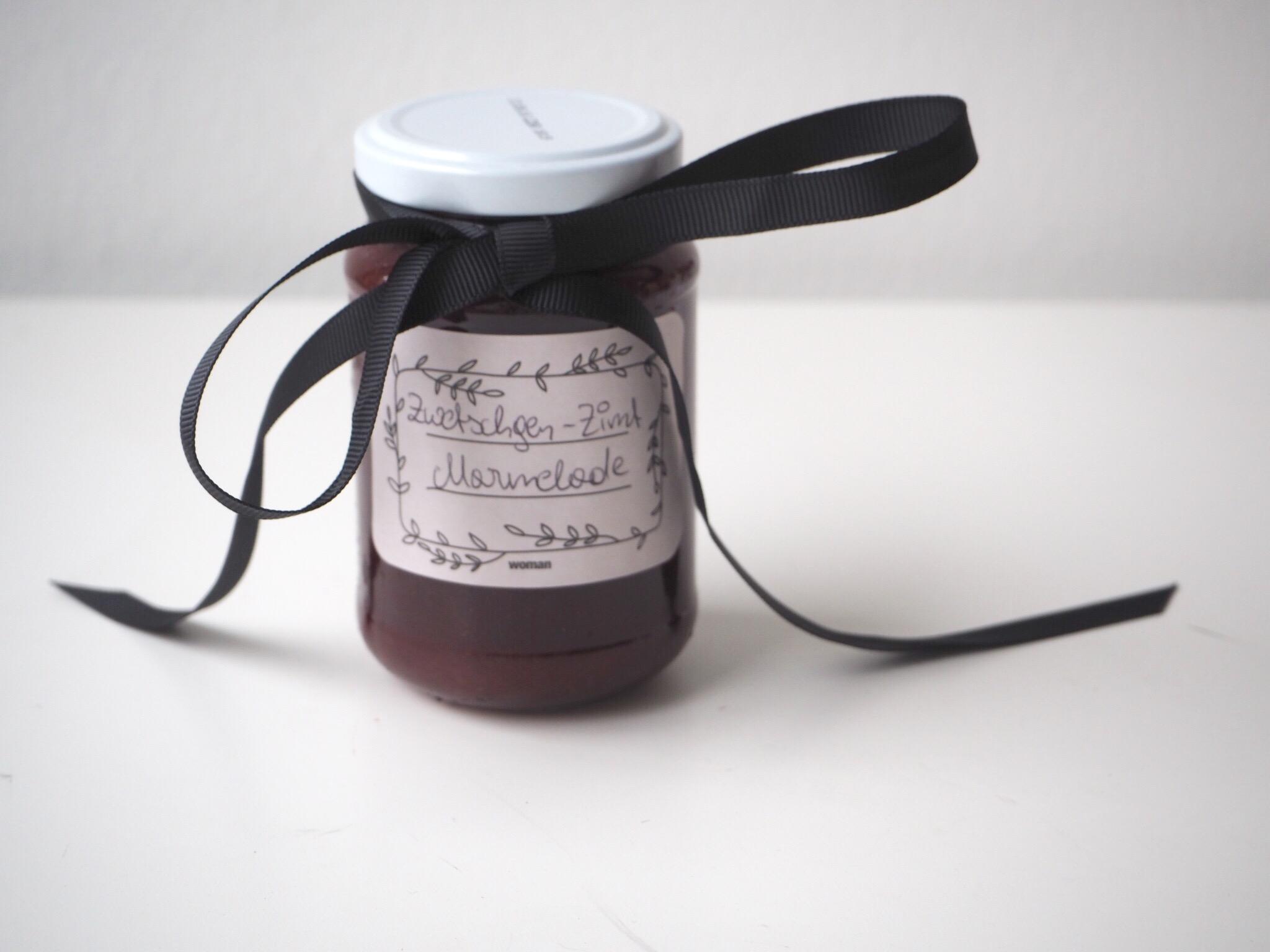 Zwetschgen-Zimt Marmelade