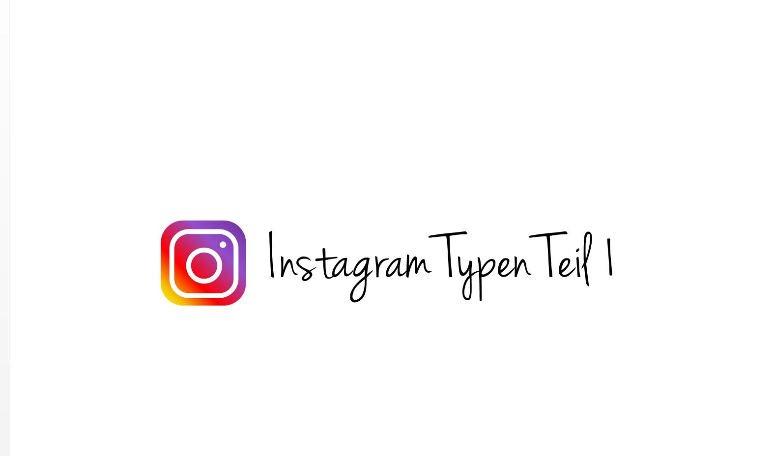 Instagram Typen Teil 1 – der Entrepreneur